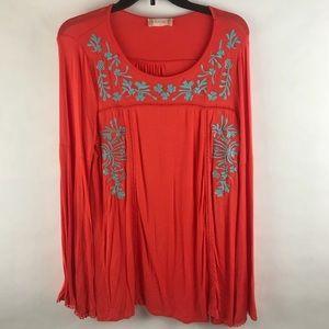 Altar'd State long sleeve boho shirt